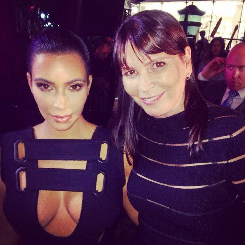 E! News caught up with Kim Kardashian at The Grove in Los Angeles