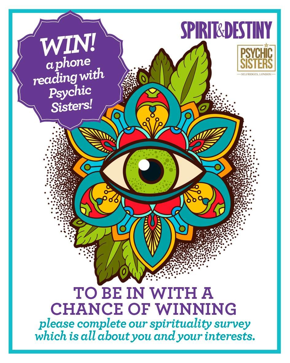 Win a phone reading with Psychic Sisters