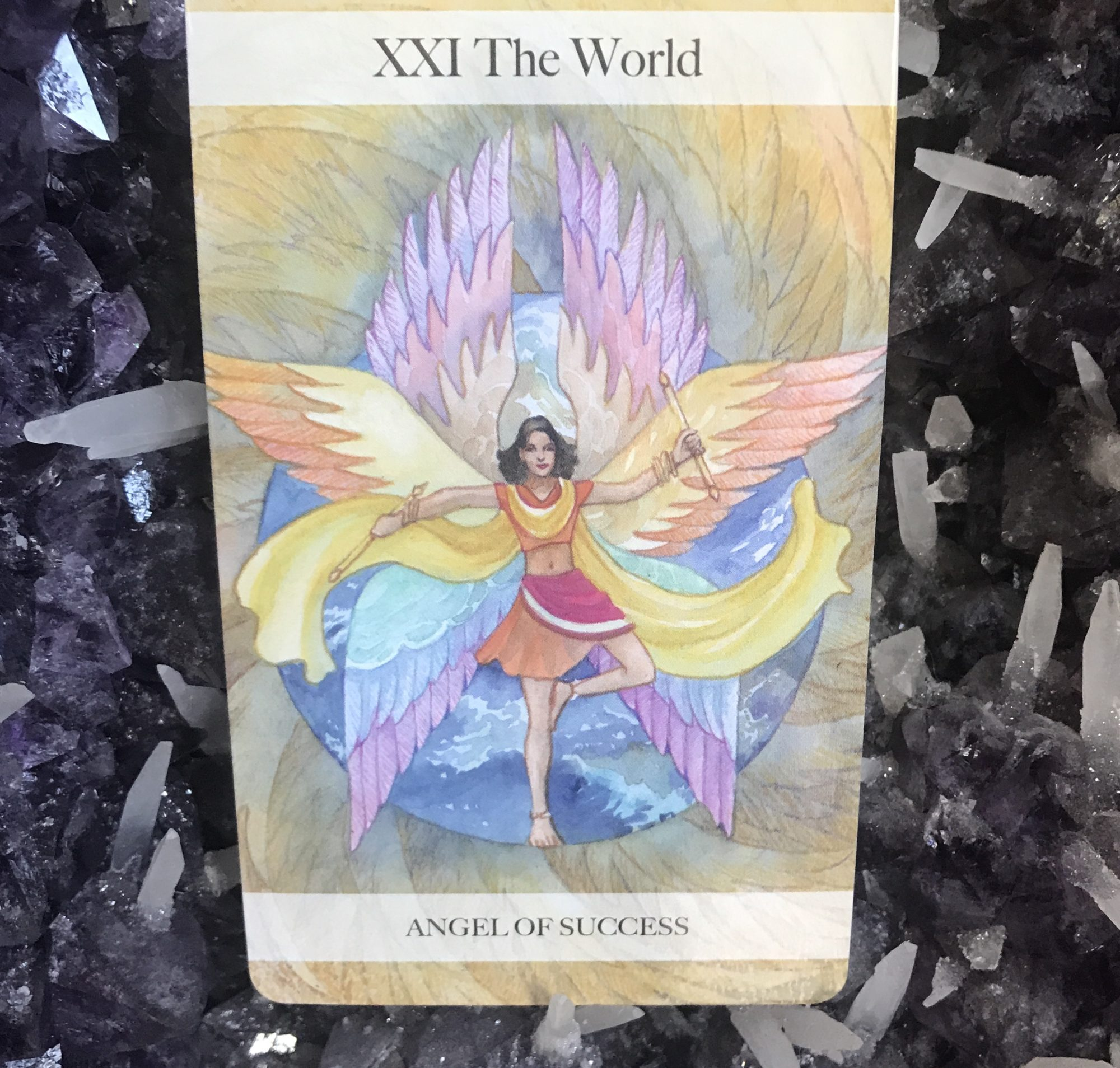 Angel Tarot Course -  Judgement & The World