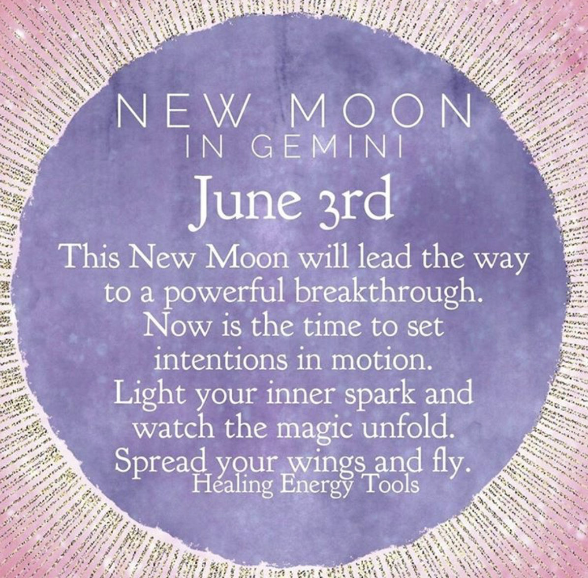 New moon in Gemini ♊️- June 3rd
