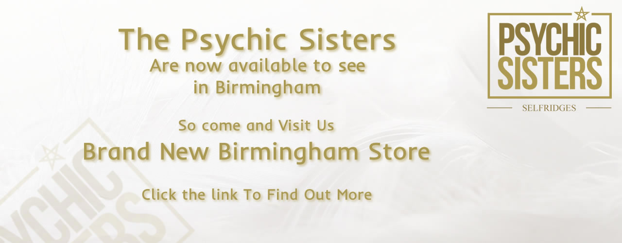 Jayne Wallace and the Psychic Sisters, Selfridges, London, Aura Reading, Clairvoyance Reading Psychic Sisters in Birmingham