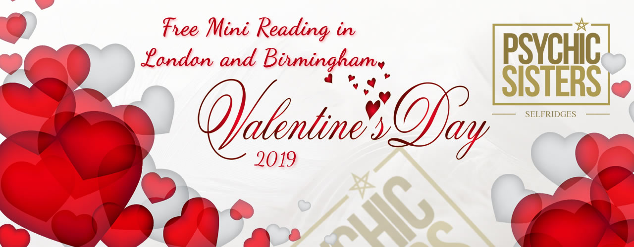 Jayne Wallace and the Psychic Sisters, Selfridges, London, Aura Reading, Clairvoyance Reading free Mini Readings Valentines Day 2019