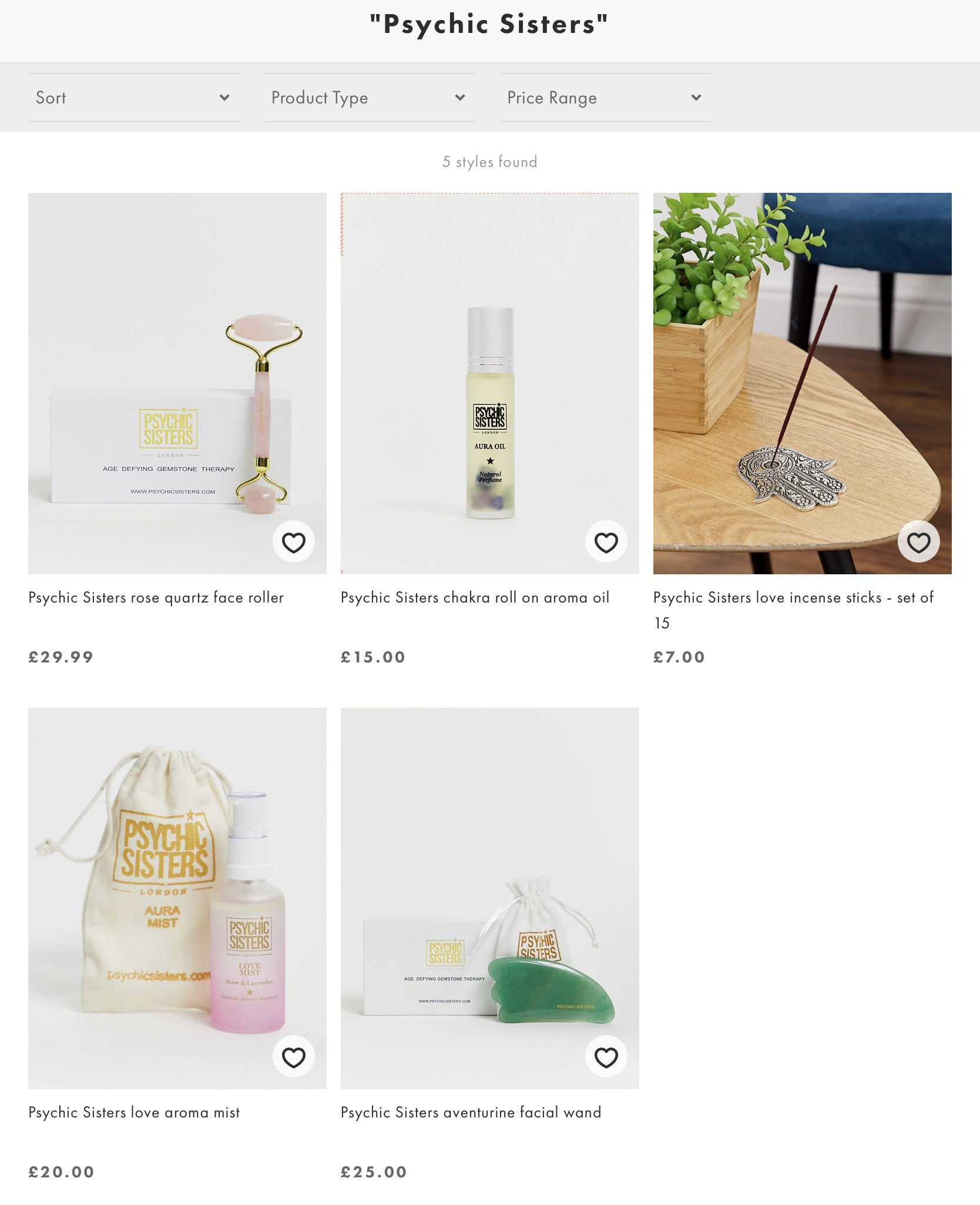 Psychic Sisters products on ASOS