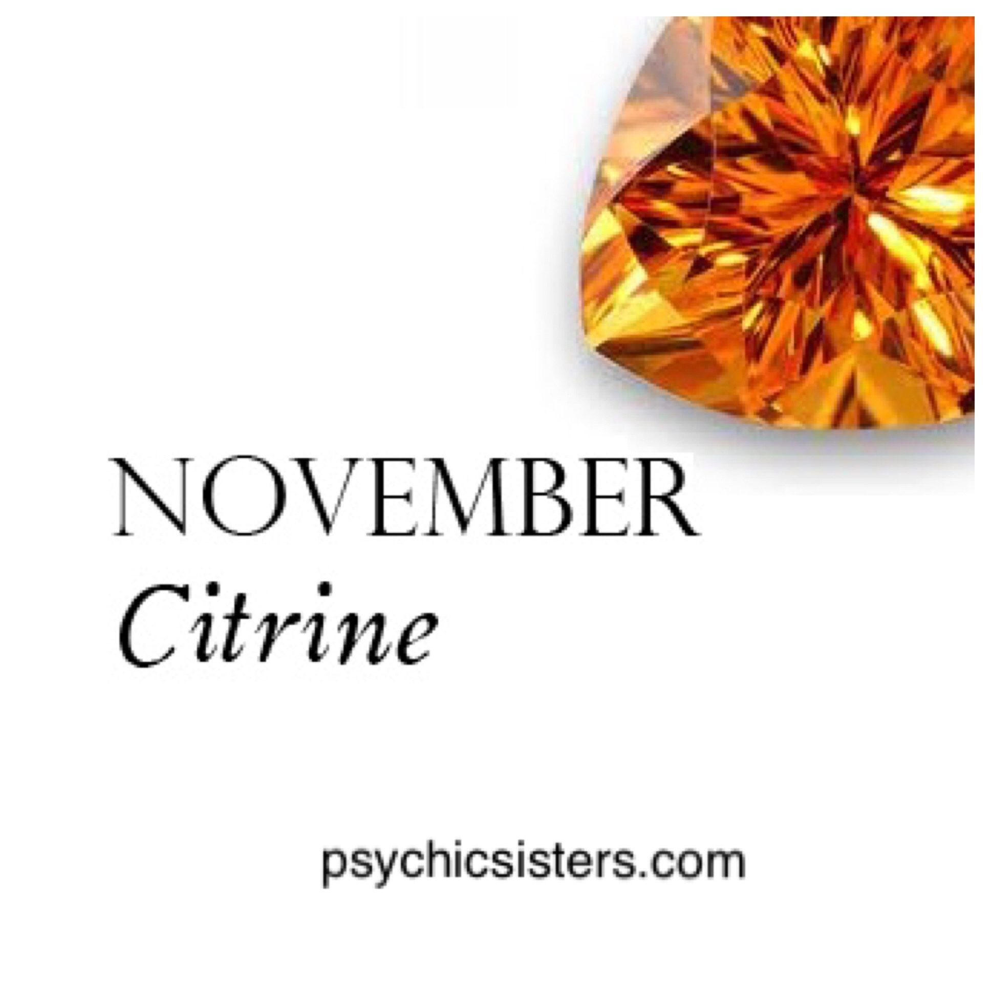 November's Birthstone