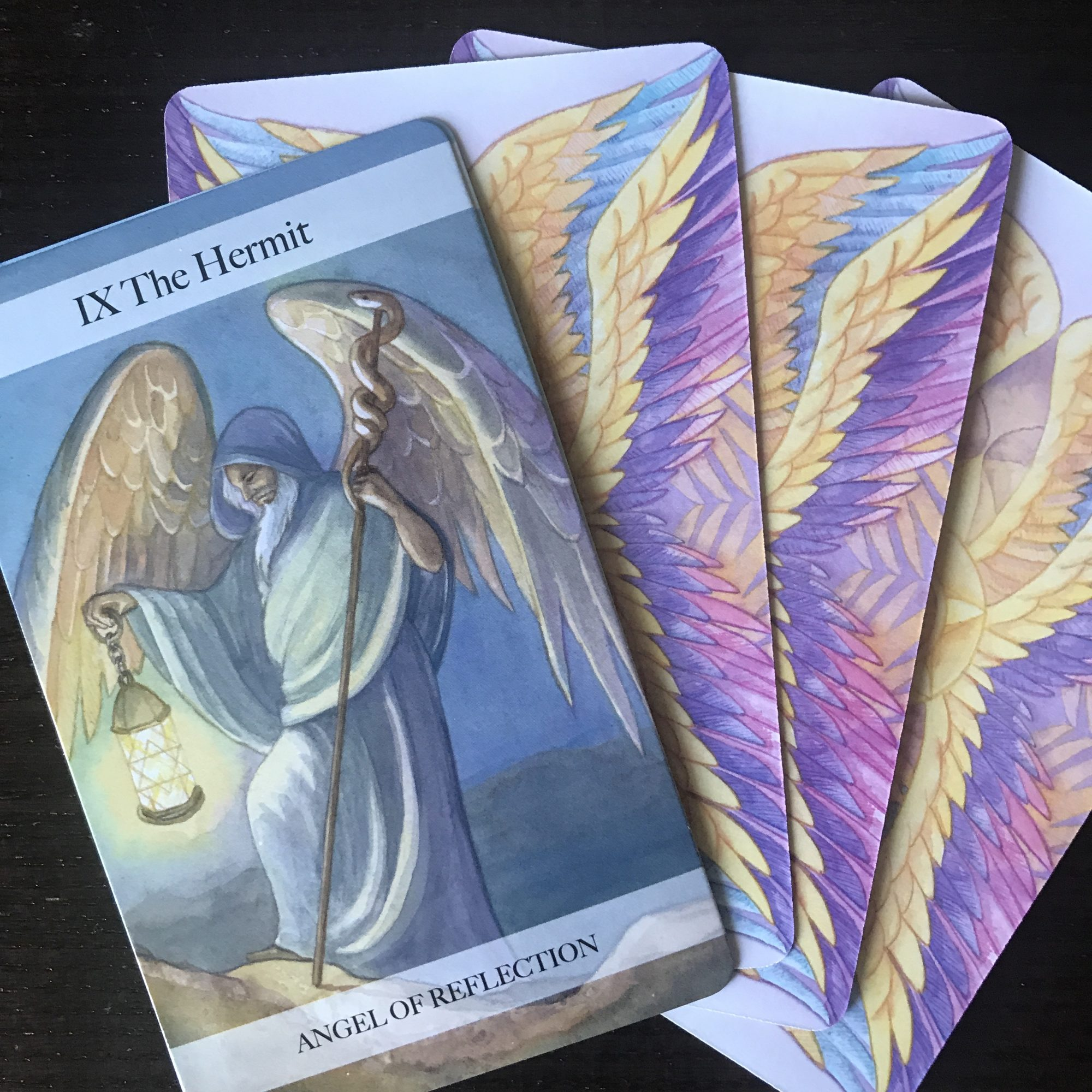 Angel Tarot Course - The Hanged Man & Death