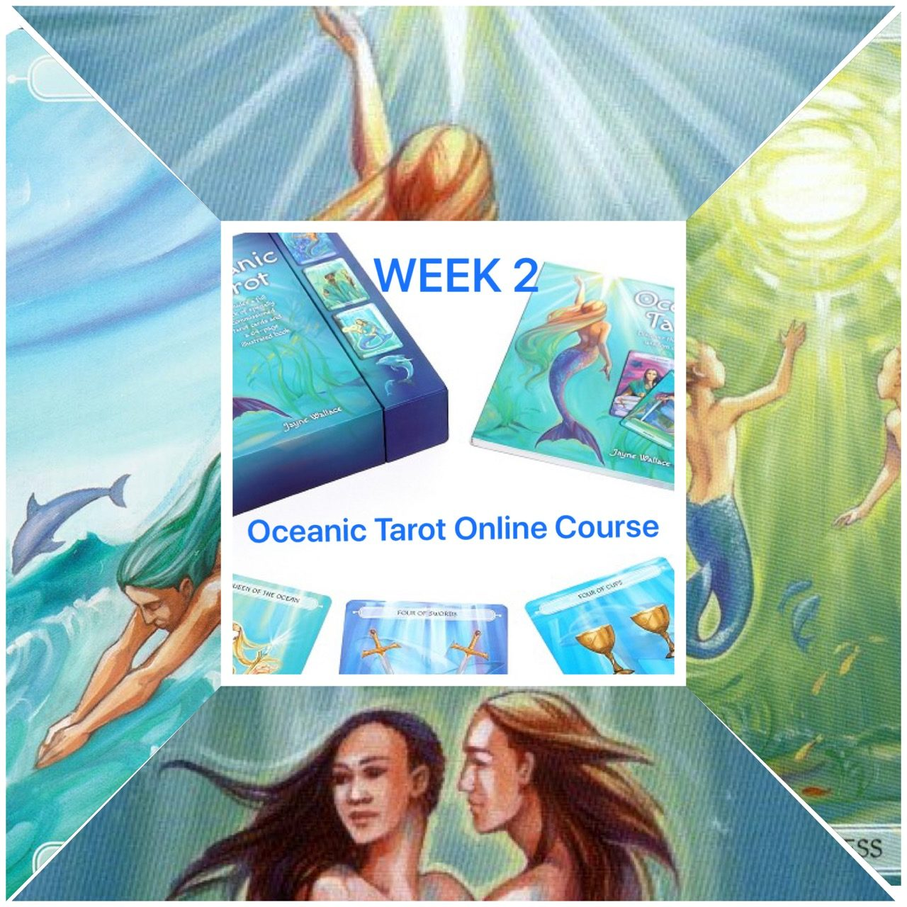 Oceanic  Tarot Course - Aces -  Week 2