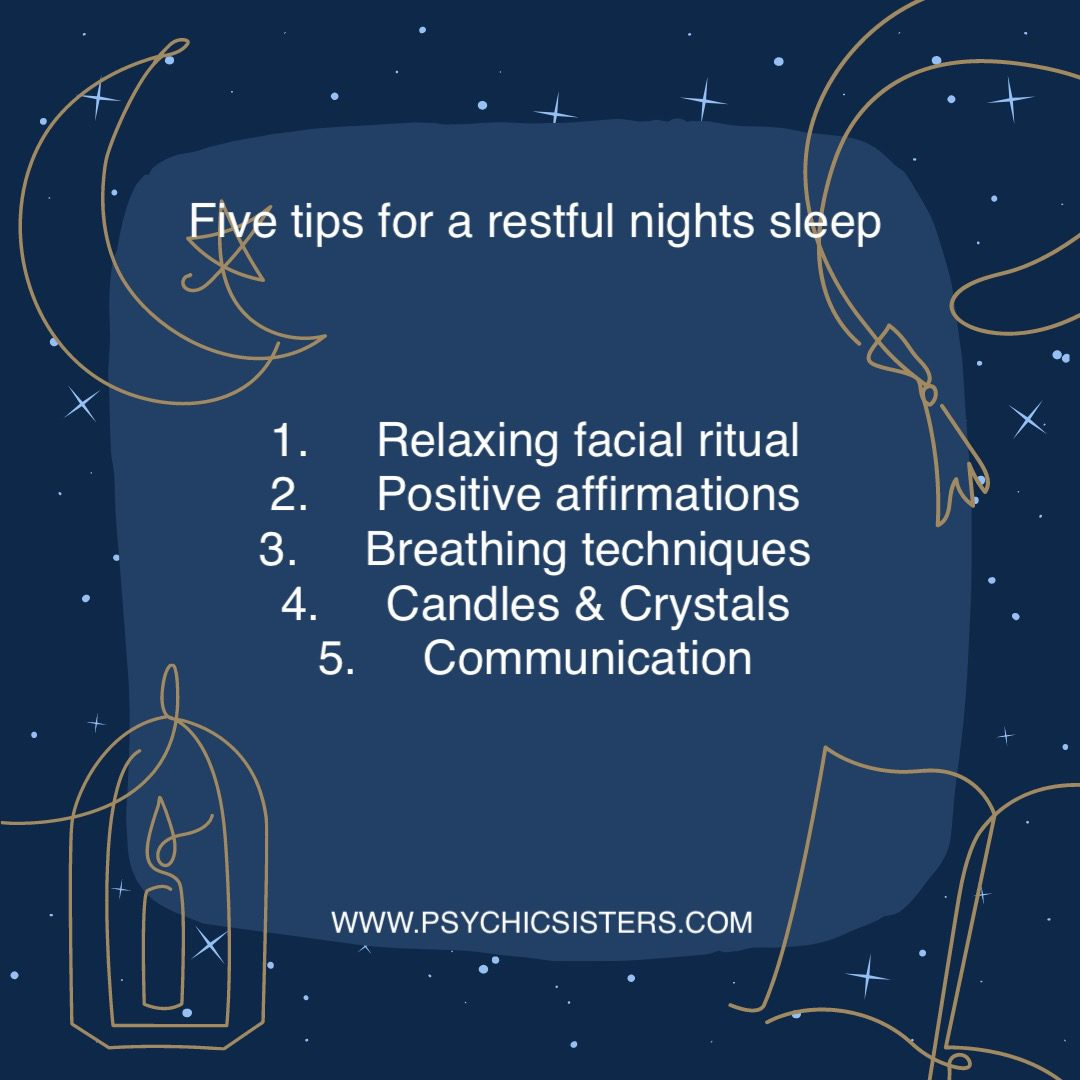 Five tips for a restful nights sleep
