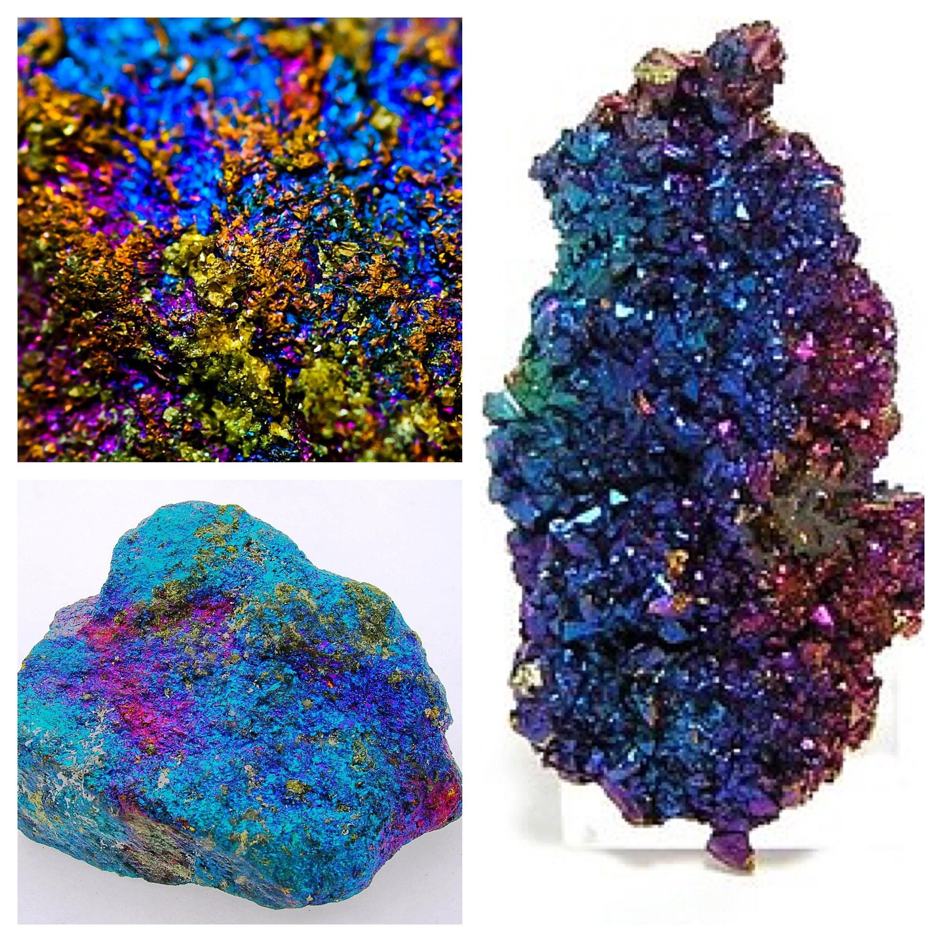 Crystal of the Week Peacock Ore