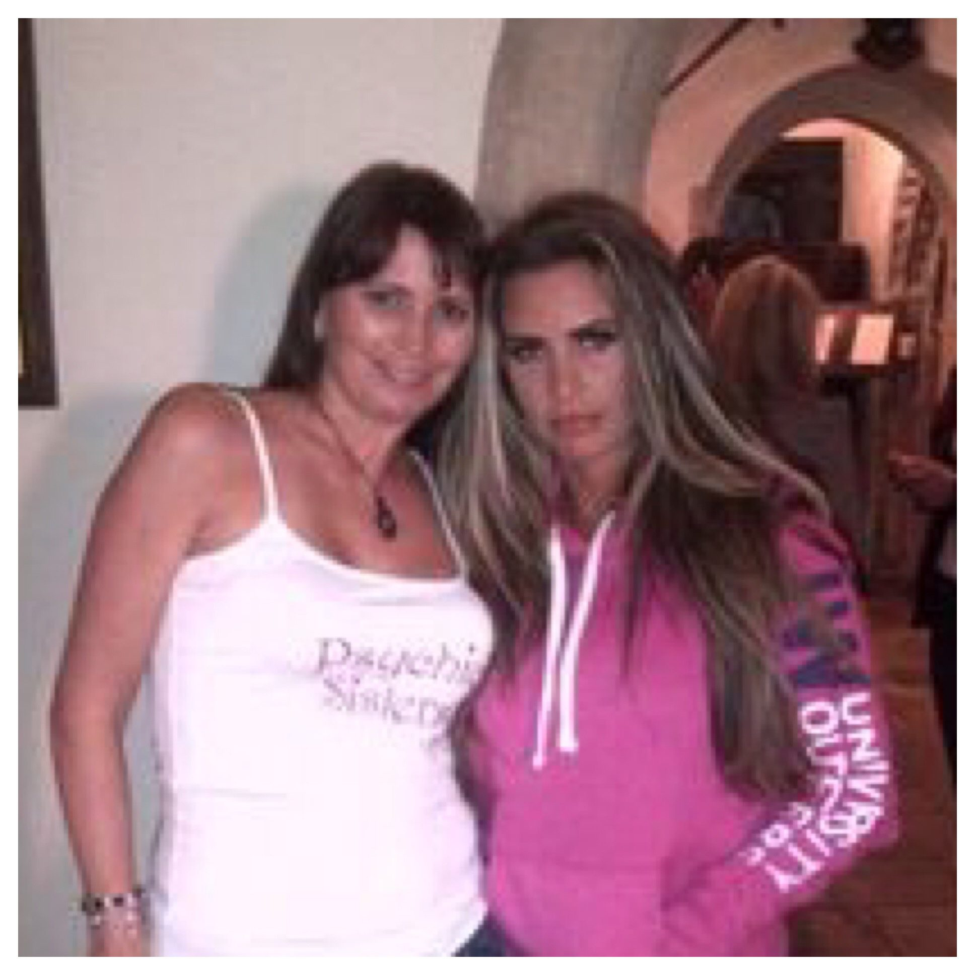 Katie Price Katie and Jayne Wallace.
